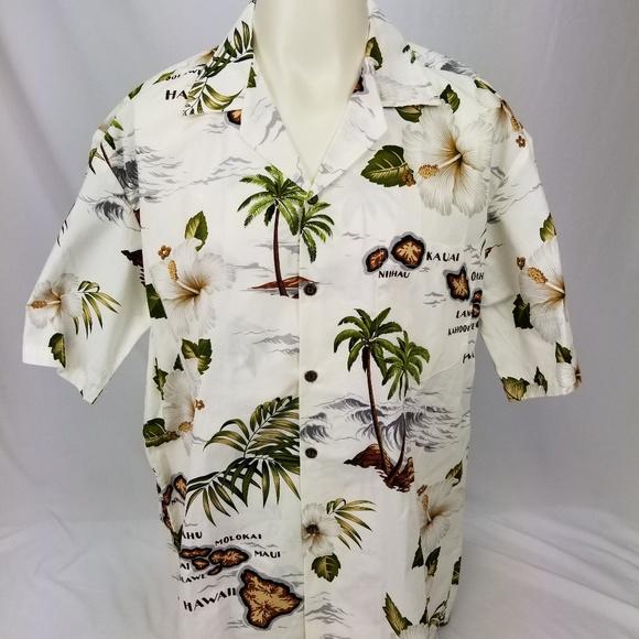 995ac2f0 Pacific Legend Shirts | Hawaiian Shirt Mens Size Large | Poshmark